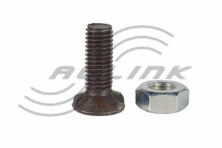 M12x30 CL8.8 Double Slot Plough Bolt/Nut