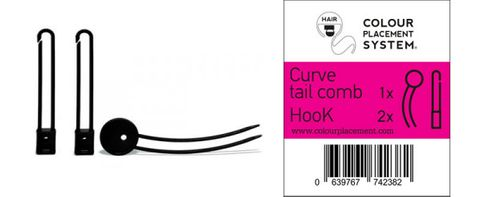 TWIN TAIL COMB + HOOK