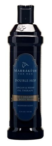 MKESH DOUBLE HOP SHAMPOO/BODY WASH 355ml