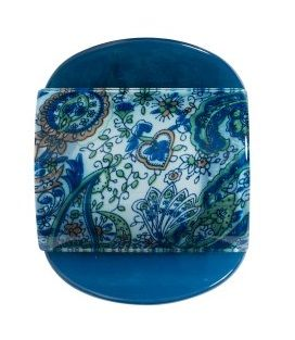 MLISA LRG BLUE PAISLEY