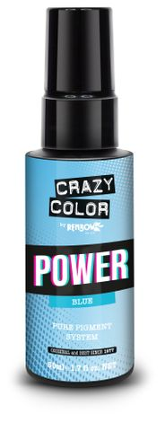 CRAZY COLOR POWER -BLUE