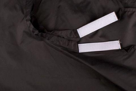 PLAIN NYLON GRIP NECK BLACK
