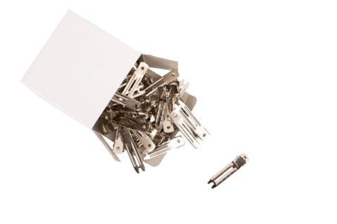 METAL DOUBLE PRONG CURL CLIP