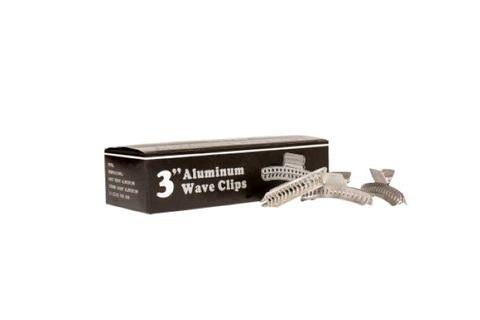 "ALUMINIUM BUTTERFLY CLIP 3"" 24 PKT"