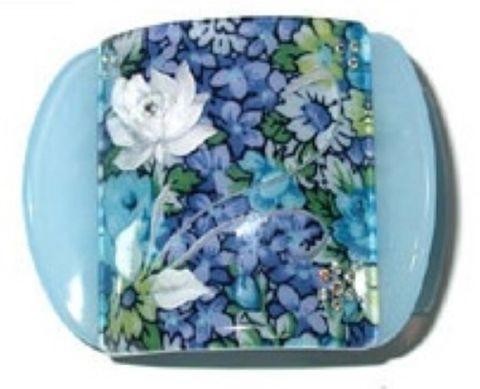 MLISA REG BLUE FLORAL/WHITE FLOWER/DIAM