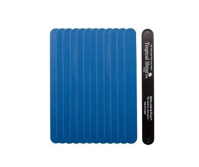 BLUE FINE 320 GRIT STRIP 12 PKT