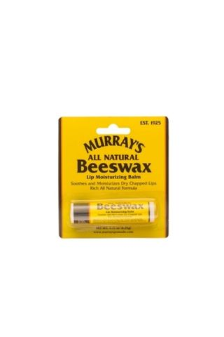 MURRAYS  BEES WAX LIP BALM CARDED 4.25g