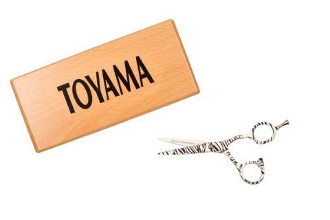 "TOYAMA PROFESSIONAL ZEBRA DESIGN (5.0"")"