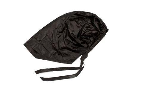 PROCESSING CAP WITH TIE BLACK