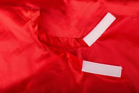 NYLON METALLIC DIAMOND GRIP NECK RED