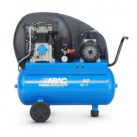 ABAC 3 HP BELT DRIVE COMPRESSOR 50LT TANK
