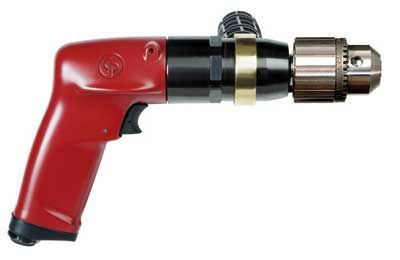 Drill 1/2 13mm Industrial Chicago Pneumatic Keyed 1hp 900 rpm