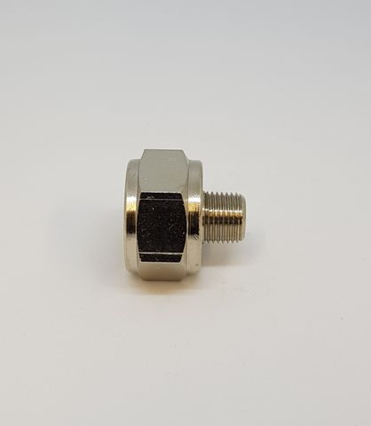 Adaptor M/F 3/8-1/8 Nickel 022393