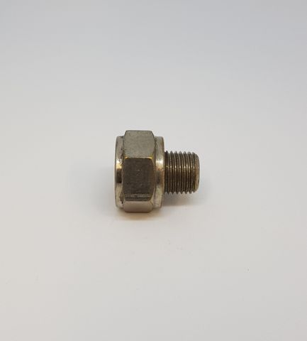 Adaptor M/F 3/8-1/4 Nickel 022395