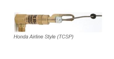 "Airline Throttle Control Honda 5.5/6.5hp Engine 1/4"" Compression w/Unloader"