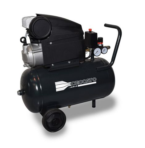 25DM2 Pro Ceccato 2HP Direct Drive Compressor  25lt