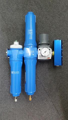 3 Stage Breathing Air Set C/W Manifold / Reg / Wall Mount 7 MAN