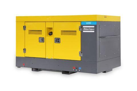 U250 Portable Air Compressor 250CFM Utility + Aftercooler