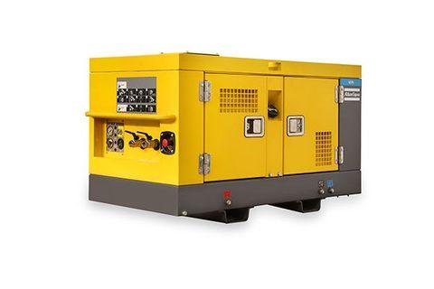u75 Portable Air Compressor CP 75CFM Utility + Aftercooler