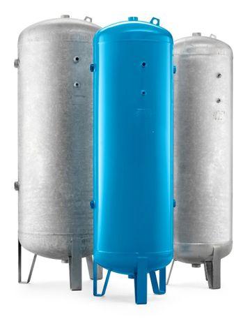 V5000/11 Air Receiver Vertical 5000Lt 11Bar galvanized