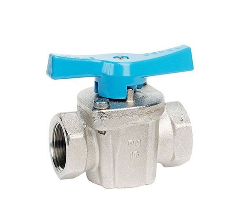 "Ball Valve Atlas Copco 1/2"" F/F T Handle"