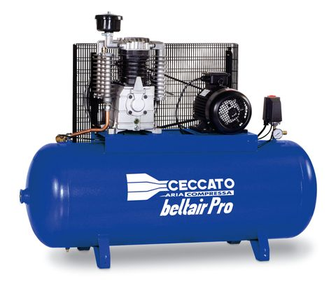 270F7XR Piston Compressor Ceccato 7.5HP star delta starter 270lt  ns39
