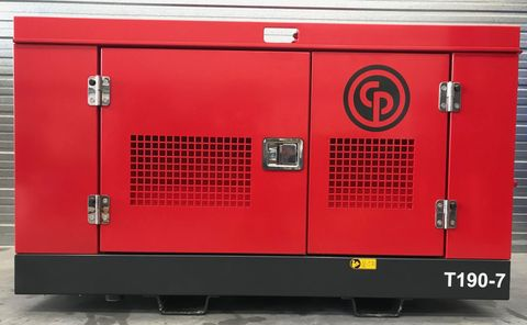 USED CHICAGO PNEUMATIC T190 UTILITY COMPRESSOR