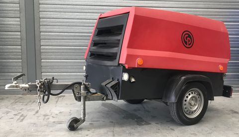 USED CPS 5.0 TRAILERISED DIESEL COMPRESSOR