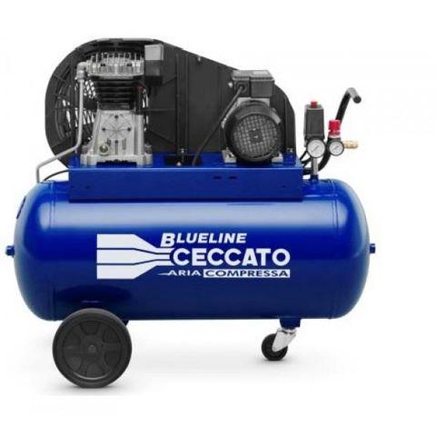 90C3MR Piston Compressor 3HP 90L 13.9CFM S/Phase Belt Drive