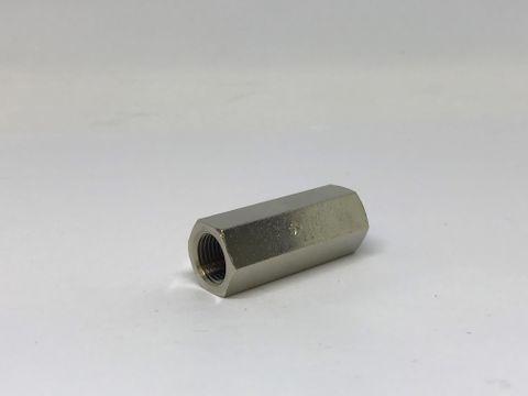 Check Valve 1/8 Inline Nickel