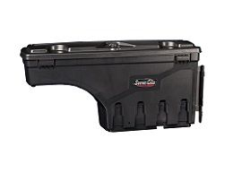 swing case storage for ute tray