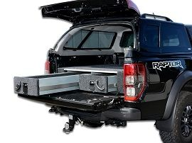 Sliding Tray and Drawers for Utes