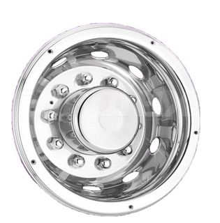 """WHEEL TRIM - 22.5"""" s/s wheel cover - rear with 10 nut covers (each)"""