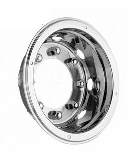 """WHEEL TRIM - 19.5"""" s/s extra deep dish - rear WITHOUT centre hub cover (each)"""