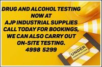 Drug and Alcohol Testing Now Available!