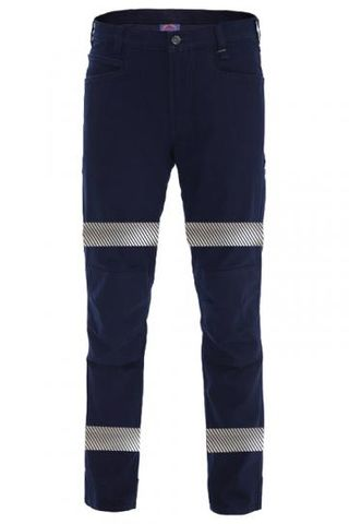 RMX FLEX FIT NAVY TROUSERS - TAPED