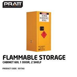 FLAM CABINET 60L 1DOOR/2SHELF
