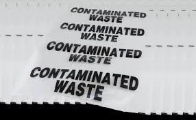 CONTAMINATED WASTE BAG CLEAR