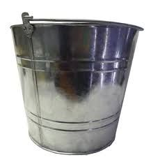 BUCKET GALV STEEL 10L