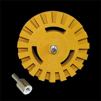 RUBBER TRACTOR WHEEL 100MM