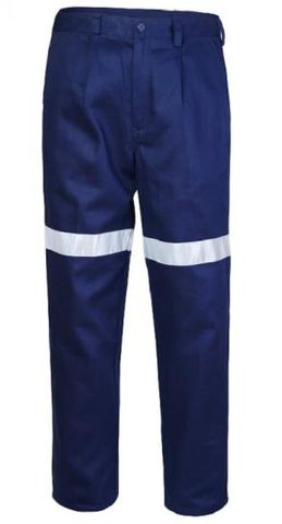 NAVY DRILL TROUSER TAPED