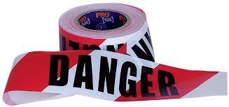 DANGER TAPE 100M X 75MM