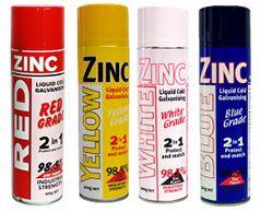 WHITE ZINC GAL P/P
