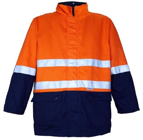 4 IN 1 COTTON DRILL JACKET O/N