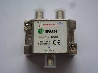 1WAY SHIELDED TAP-OFF 10dB 5-2300MHz