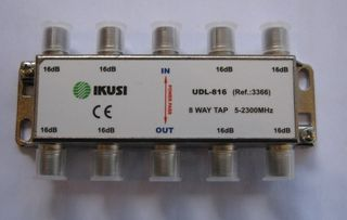 8WAY SHIELDED TAP OFF 16dB 5-2300MHz