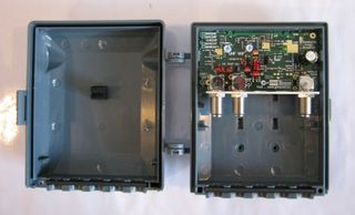 MH AMP VHF/UHF LTE 25DB F TYPE REQ PSK