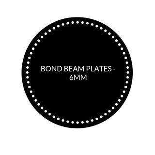 BOND BEAM PLATES - 6MM