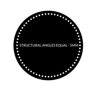 STRUCTURAL ANGLES EQUAL - 5MM
