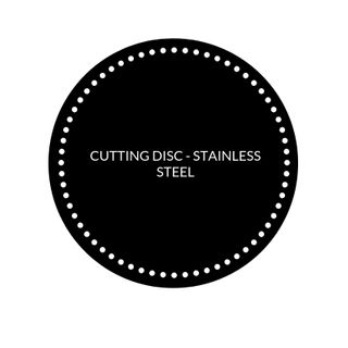 CUTTING DISC - STAINLESS STEEL